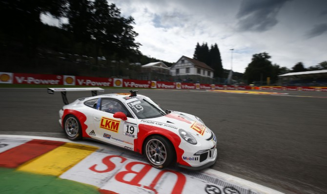 Bamber secures first Supercup pole
