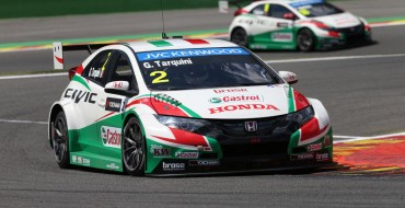Debutant Ghiotto claims pole