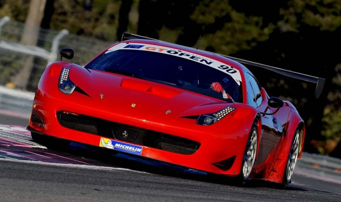 AF Corse quickest at Barcelona