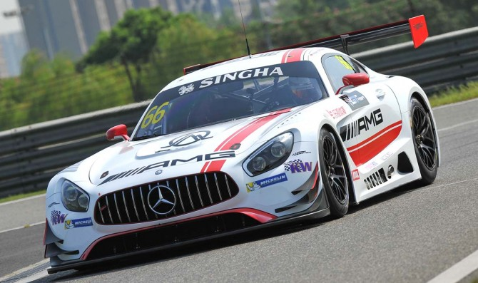 Epic GT Asia Series field at Shanghai