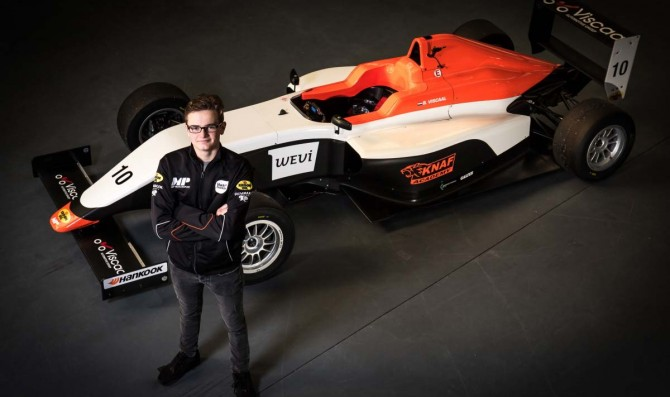 Four talents for MP Motorsport