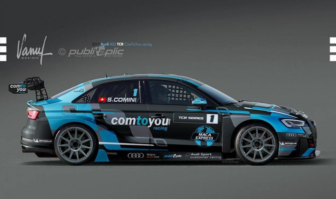 Comini to race with an Audi