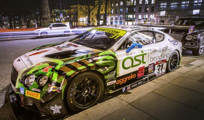 New livery revealed for Morris-Parfitt Jnr Bentley