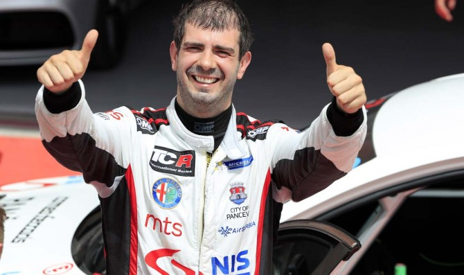 Borkovic takes his first TCR win