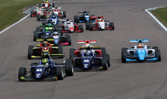 Ahmed claims race one victory