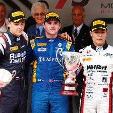 Rowland wins Monaco feature race