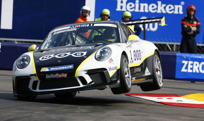 Ammermuller secures pole at Monaco