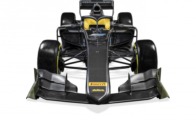F2 2018 unveiled in Monza