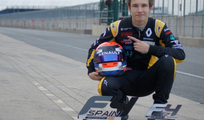 MP Motorsport announces Lundgaard