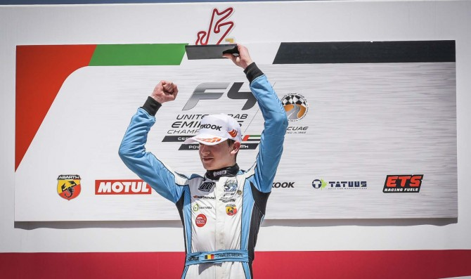 Weerts claims F4 UAE title