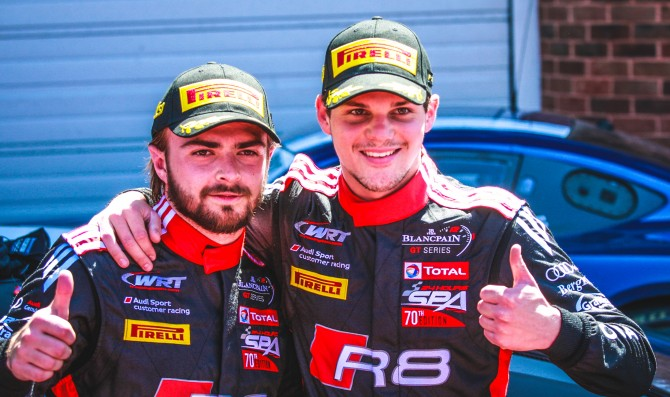 Vanthoor/Stevens win first race
