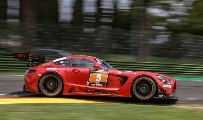 Mercedes leads qualifying in Imola