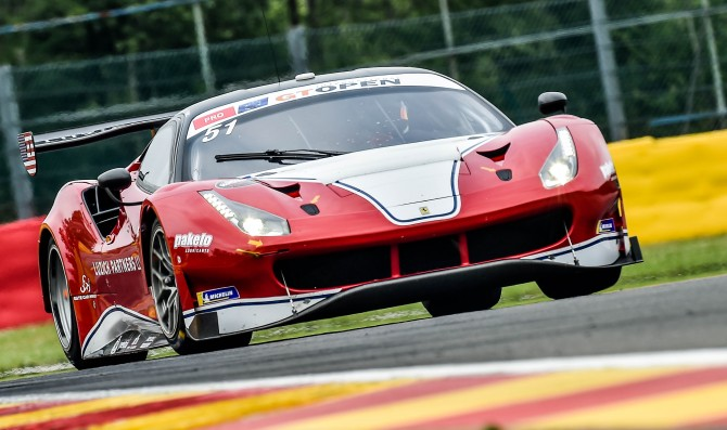 Ferraris dominate Q1 in Spa